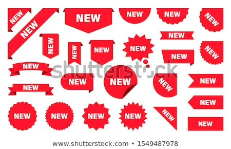 New Collection Red Vector Icon Design Stock photo © rizwanali3d