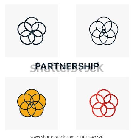 Trusted Link Yellow Vector Icon Design Stock photo © rizwanali3d