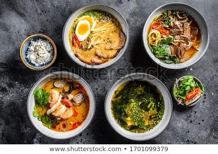 Tom Yam Soup Ingredients Stock photo © zhekos