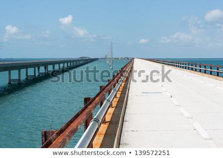 new part of the seven miles bridge Stock photo © meinzahn