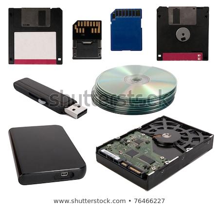 дисков открытых Жесткий диск внутренний компоненты Сток-фото © ravensfoot