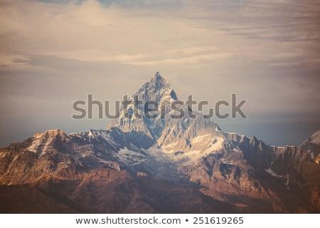 山 インスピレーション 風景 ヒマラヤ山脈 山 美しい ストックフォト © blasbike