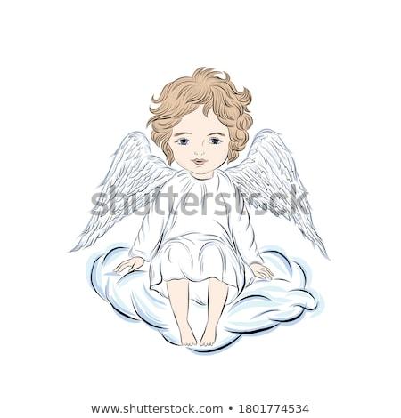 Calvary Boy Praying Stock photo © rghenry