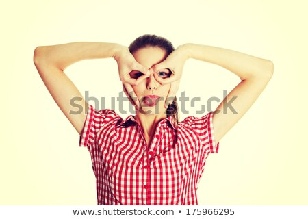 Young Brunette Making Goofy Faces Stock Photo C Jhon Doe Lithian 724286 Stockfresh