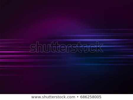 明るい ネオン デザイン 抽象的な ディスコ ケーブル ストックフォト © Natali_Brill