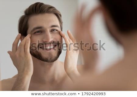 Stockfoto: Aangenaam · procedure · mooie · gelukkig · vrouw · wachten