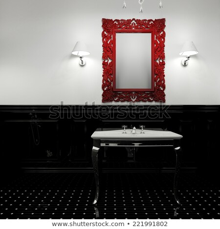 Room with water closet. 3D image Stock photo © ISerg