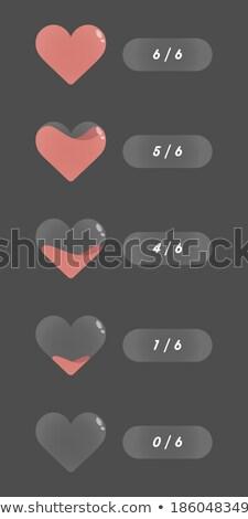 синий · Бар · СМИ · иконки · вектора · веб-иконы - Сток-фото © natali_brill