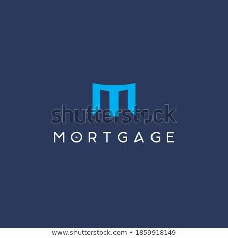M Door Icon Design Stock photo © sdCrea
