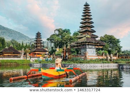Catamarán barco bali Indonesia tradicional isla Foto stock © artush