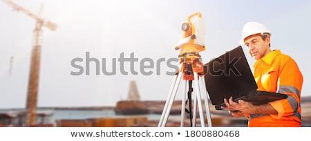 кавказский строителя рабочих Постоянный транзит Сток-фото © RAStudio
