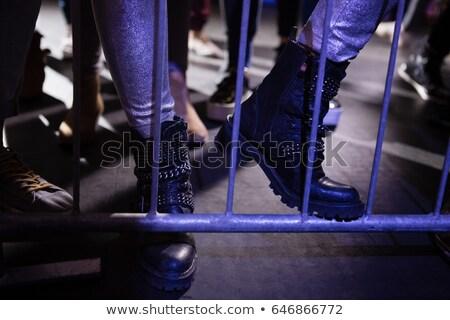 常設 音樂會 夜總會 女子 男子 岩 商業照片 © wavebreak_media