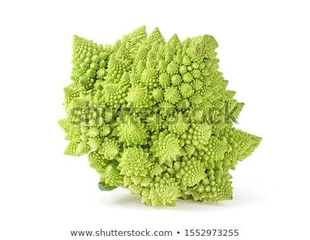 Brokoli sebze beyaz gıda doğa Stok fotoğraf © Masha