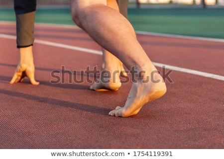 ストックフォト: 靴 · 美しい · 女性実業家 · リラックス · 作業 · 女性