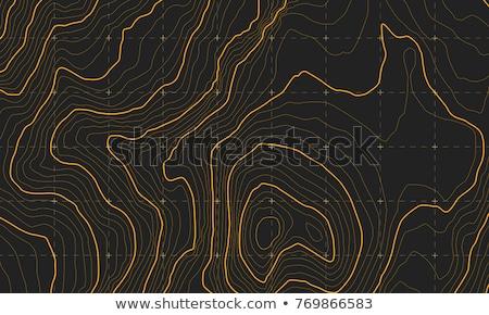 körvonal · vektor · grafikus · illusztráció · térkép · absztrakt - stock fotó © sarts