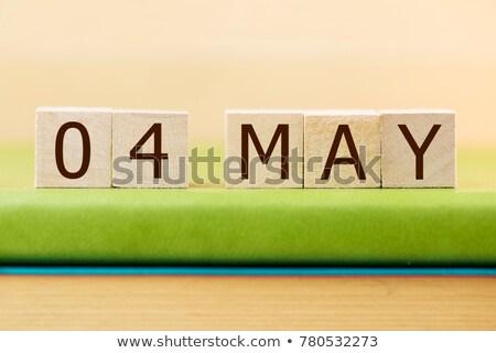 Cubes 4th May Stock photo © Oakozhan