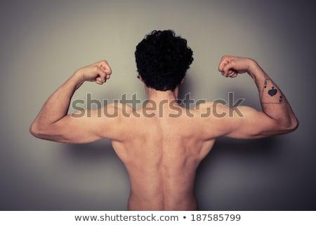 Uomo torso maschio adulto uno una persona Foto d'archivio © IS2