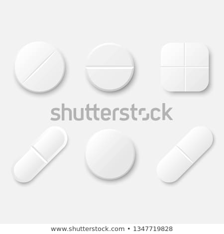 Verpakking aspirine vitaminen vector 3D drugs Stockfoto © robuart