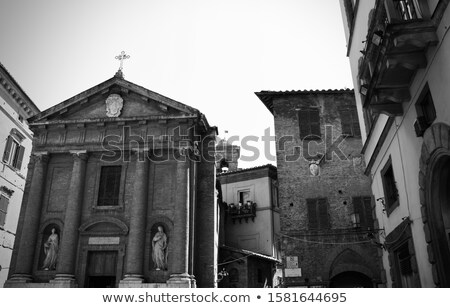 Италия мнение здании Церкви Тоскана декораций Сток-фото © boggy
