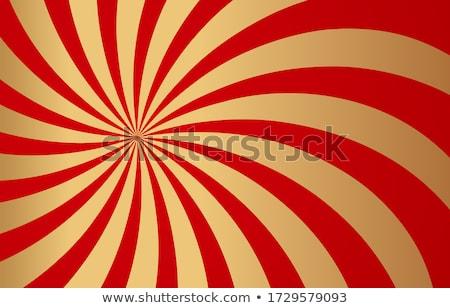 радуга красный цирка Vintage плакат вечеринка Сток-фото © tintin75