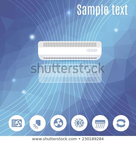 Air conditioning concept vector illustration. Stock photo © RAStudio