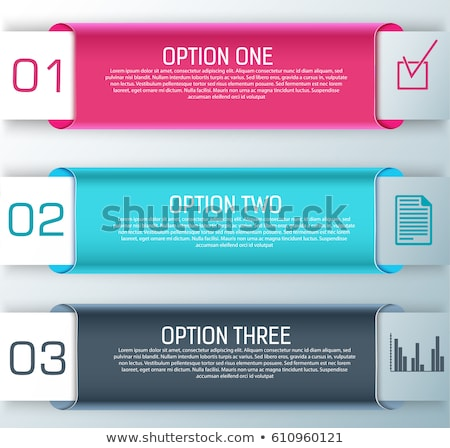 Set of Horizontal Banners about engineering Stock photo © netkov1