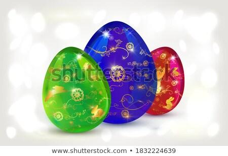 Ilustração colorido flor brilhante Foto stock © articular