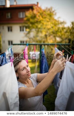 handen · touw · witte · business · zakenman - stockfoto © lightpoet