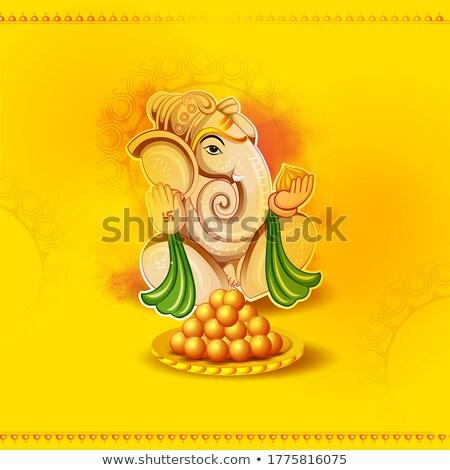 Indian ludzi religijnych festiwalu Indie Zdjęcia stock © vectomart