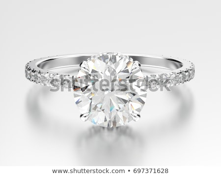 illustration of diamond ring Stock photo © adrenalina