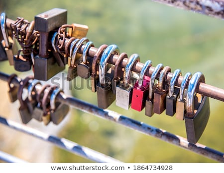 Locks as symbol for everlasting love Stock photo © manfredxy