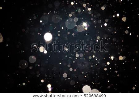 Christmas światła ciemności Zdjęcia stock © pressmaster