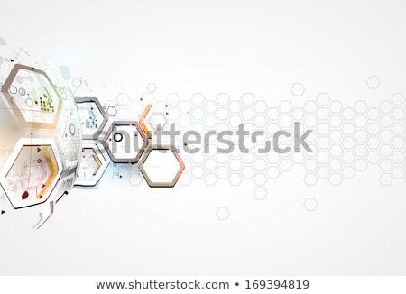 futuristic digital mobile concept digital technology background Stock photo © SArts