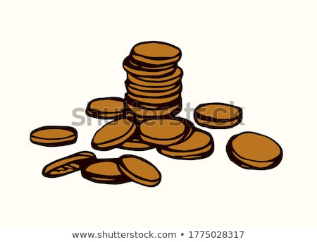 Cash Money Dollars Bucks and Cents Drawing Stock photo © swatchandsoda