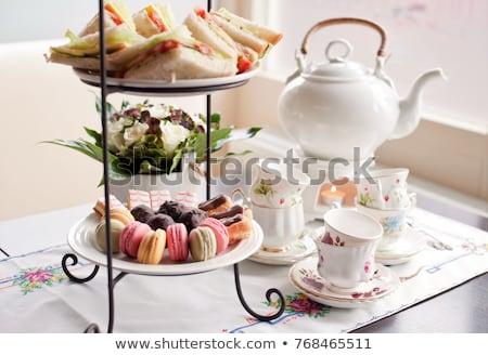 Cup of Tea at HIgh Tea Stock photo © Vividrange