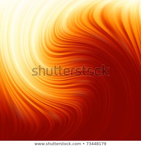 absztrakt · citromsárga · hullámos · forma · terv · narancs - stock fotó © beholdereye