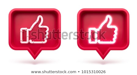 Communication channels and Social Media icons Stock photo © stoyanh