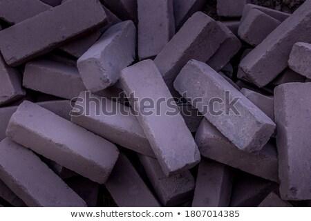 Dikdörtgen biçiminde kaldırım taşlar inşaat çalışmak Stok fotoğraf © Melvin07