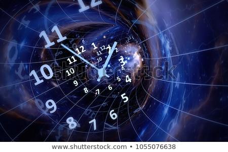 temps · Voyage · horloge · mots · blanche · communication - photo stock © kbuntu