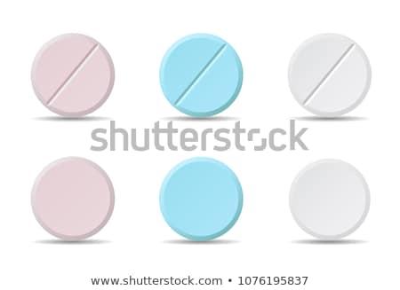 Stock fotó: Different Kind Of Drug Icons