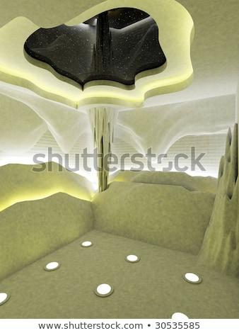 steeg · sauna · meisje · spa · zorg · lifestyle - stockfoto © olira