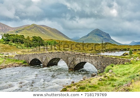 Glen Sligachan, Isle of Skye, Scotland Stock photo © HJpix