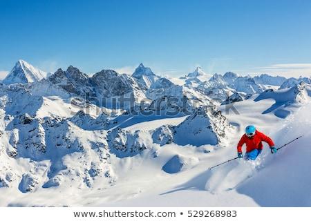 swiss alps verbier switzerland stock photo © vladacanon