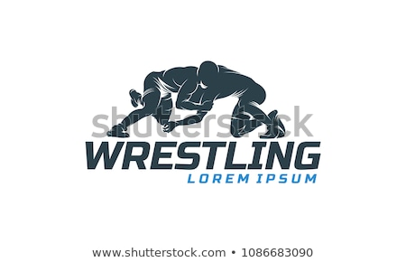 Stock photo: Wrestling