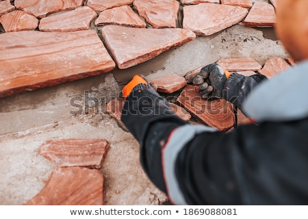 Tiler and an architect Stock photo © photography33