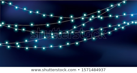 Light bulb isolated on dark blue Stock photo © vlad_star