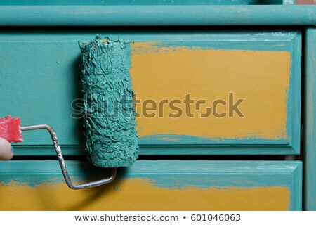 Stock photo: Paintimg furniture