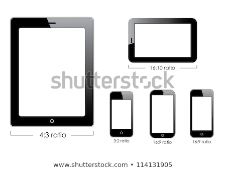 Black generic tablet pc stock photo © m_pavlov