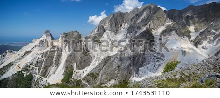 The Marble Quarries - Apuan Alps , Carrara, Tuscany, Italy Stock photo © wjarek