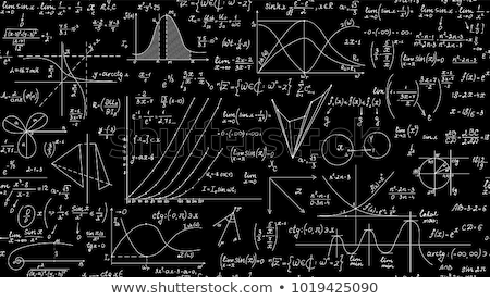 Algebra, trigonometry and geometry formula Stock photo © grafvision